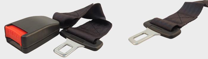 2x universel 36cm voiture ceinture de s curit extenseur extension s curit ebay. Black Bedroom Furniture Sets. Home Design Ideas