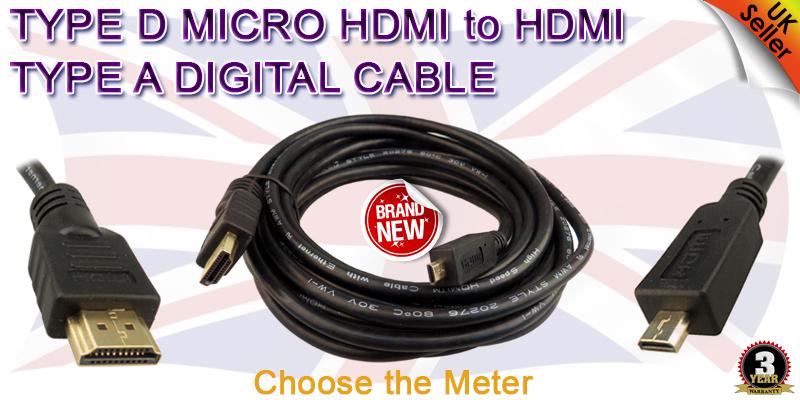 Micro Hdmi S Vga To Dvi D 3 Rca Ypbpr Hdtv Av 1080p Cable