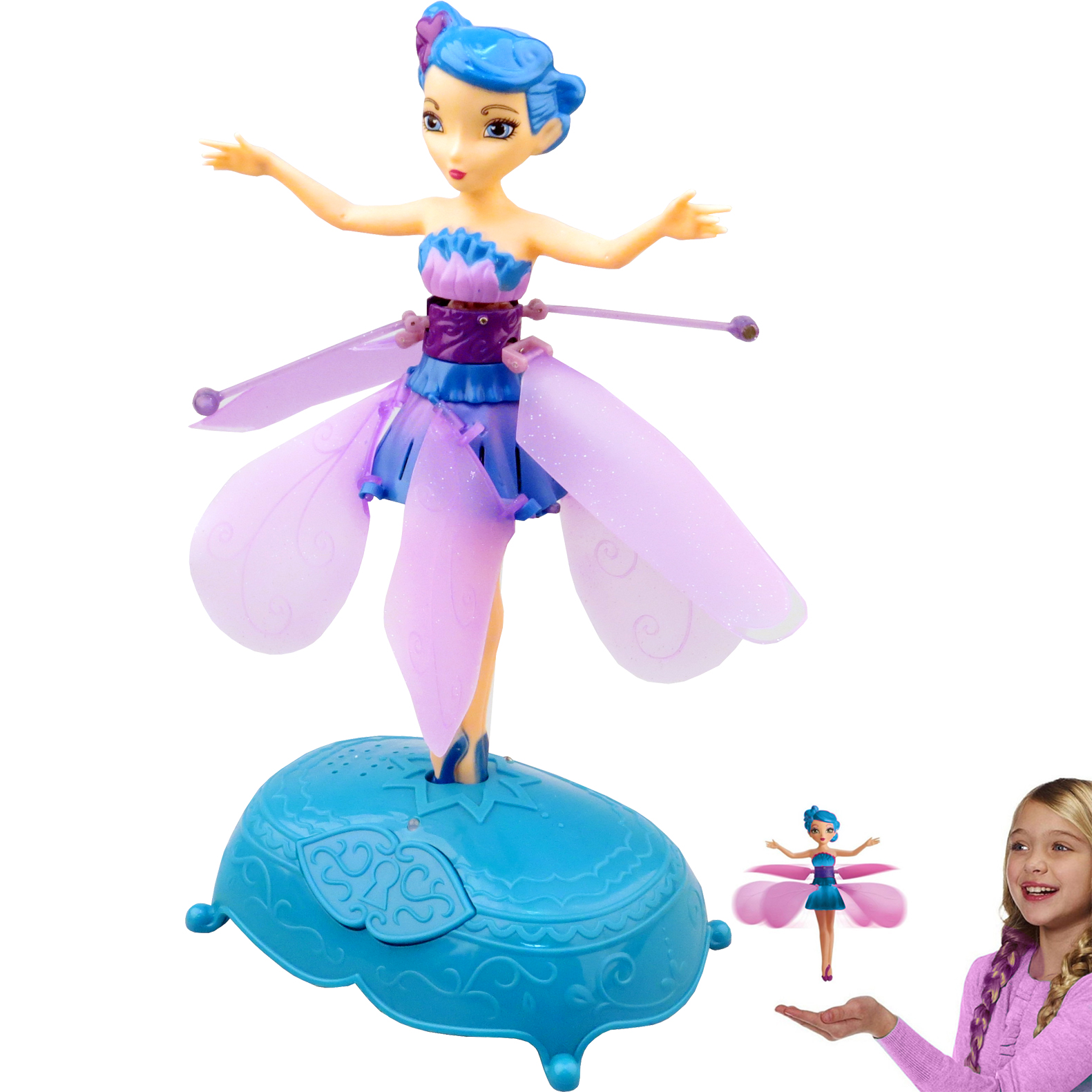 how to work flying fairy toy