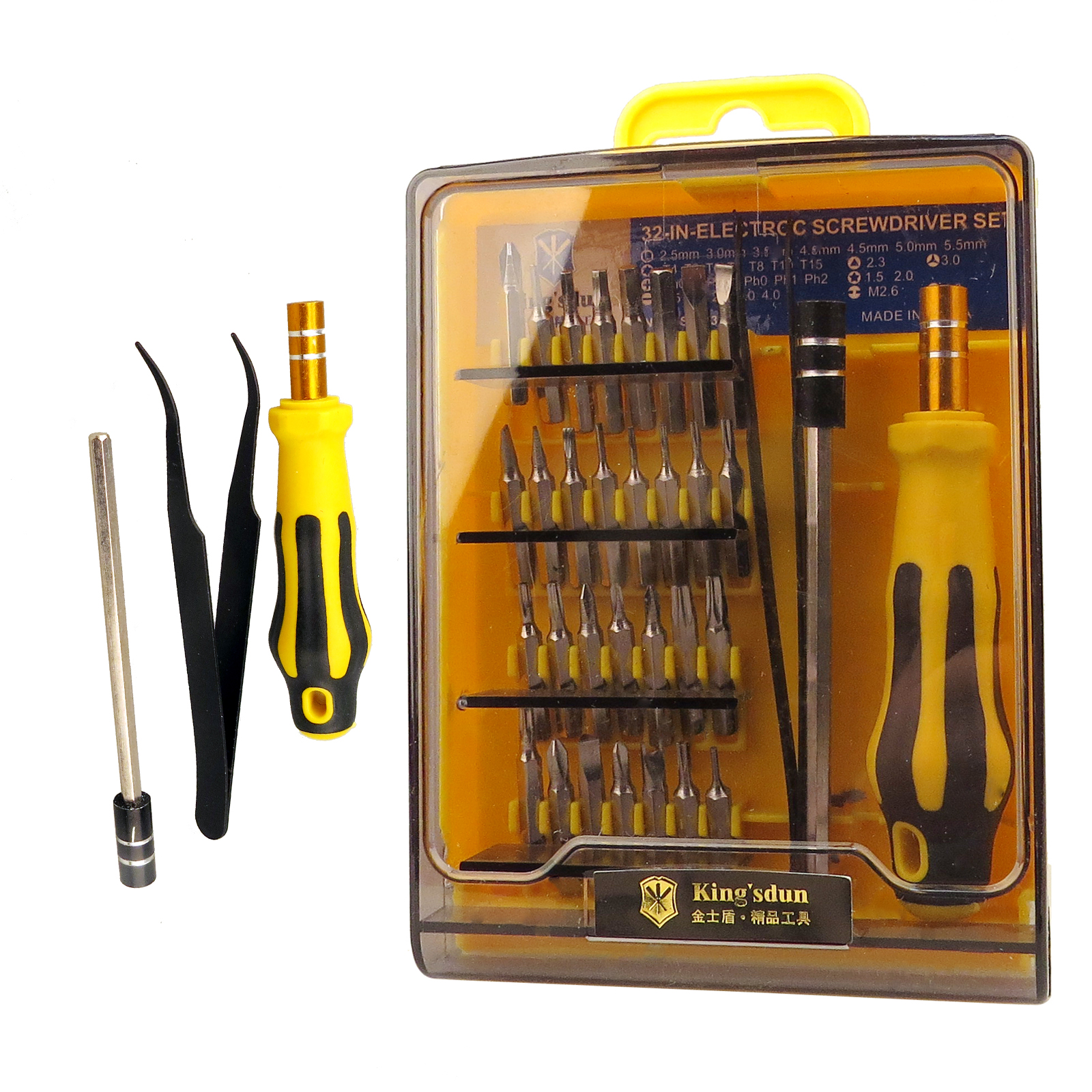 33 in 1 precision torx star hex security screwdriver pc mobile repair tool set ebay. Black Bedroom Furniture Sets. Home Design Ideas