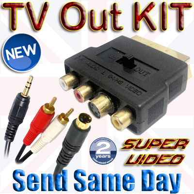 3-5MM-Jack-RCA-PC-Laptop-to-SCART-TV-S-VHS-Audio-Video-Cable-1M-2M-3M-5M-10M-Kit
